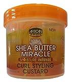 African Pride Shea Butter Miracle Moisture Intense Curl Styling Custard 340 g