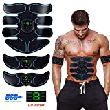 Ben Belle ABS Stimulator,Abs Muscle Toner EMS Portable Rechargeable Gym Workout Training and Home...