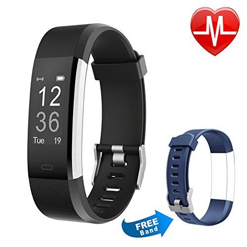Letsfit Fitness Tracker HR, Activity Fitness...