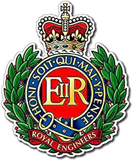 royal engineers car stickers