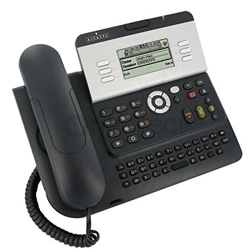 Alcatel-Lucent IP Touch 4028Black IP Phone–IP Phones (64x 128Pixel, 1.01kg, IEEE 802.3, IEEE 802.3u, IEEE 802.3ab, Black, 240x 175x 133mm, 1PC (S))