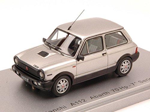 Kess Model KS43022001 Autobianchi A112 Abarth 70 HP 7 Series 1984 Silver 1:43 Compatible con