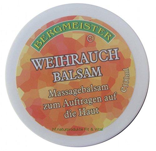 Weihrauchbalsam mit Weihrauchöl (Boswellia Serrata) mit Arnika, Ringelblume, Johanniskrautöl, Bachblüten, Extra intensiver Massage-Balsam zum Auftragen auf die Haut, ...sehr ergiebig! MADE IN AUSTRIA 100 ml