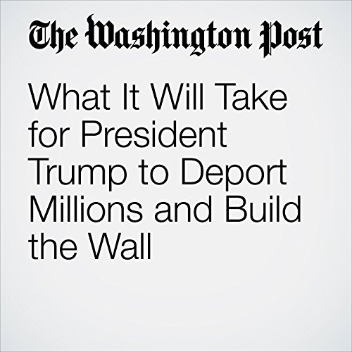 What It Will Take for President Trump to Deport Millions and Build the Wall audiobook cover art