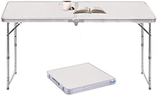 comprar comparacion Sunreal Mesa Plegable de Aluminio portátil para Camping, al Aire Libre, Picnic/Barbacoa/Fiesta de jardín/Maletero de Auto ...