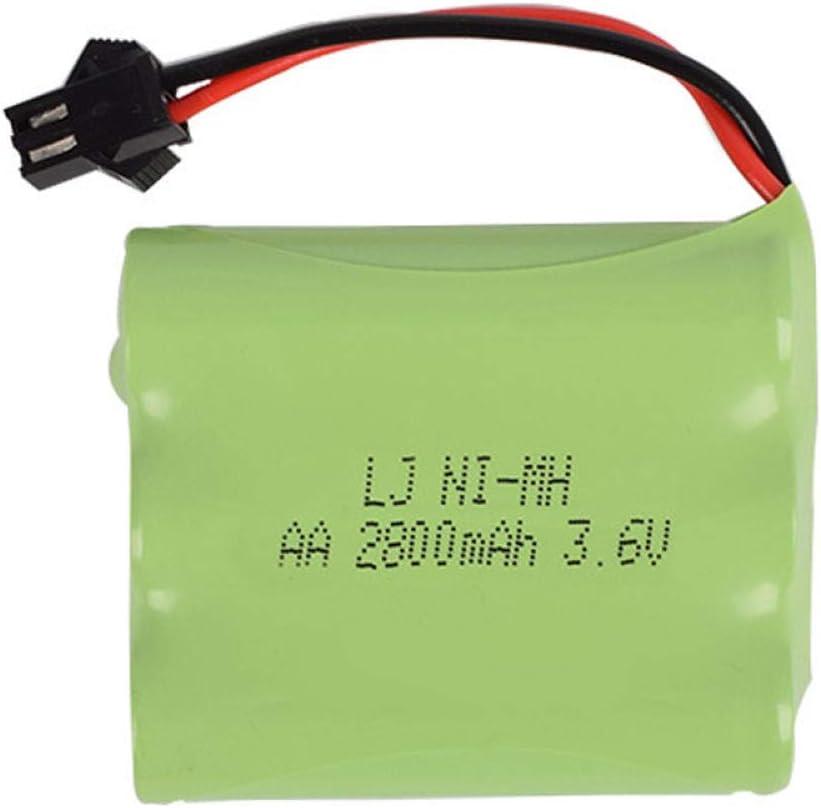 Elegant 3.6V 2800mAh AA SM-2P Plug OFFicial Battery 700mAh Remote Control Deforma