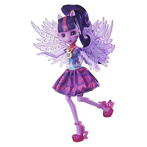 My Little Pony EG Legend of Everfree Crystal Wings Twilight Sparkle Doll