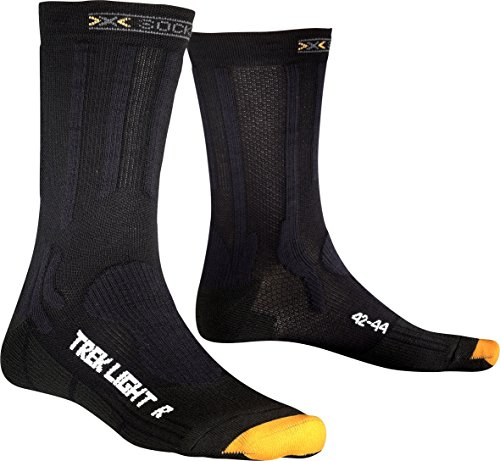X-Socks Herren Trekking Light Socke, Black, 35/38