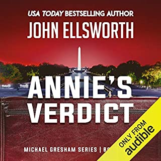Annie's Verdict audiobook cover art
