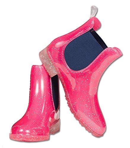Sparkle Jodhpur-Stiefel für Kinder und Damen, Rosa, 100% wasserdicht, Pink - rose - Größe: 37 EU