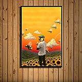Fanxp Flower Boy Band Hot Spot Musiker - Puzzle de madera (1000 unidades), diseño de dibujos animados