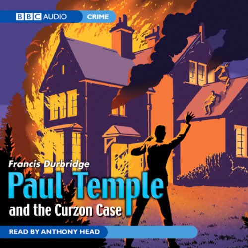 Paul Temple and the Curzon Case audiobook cover art