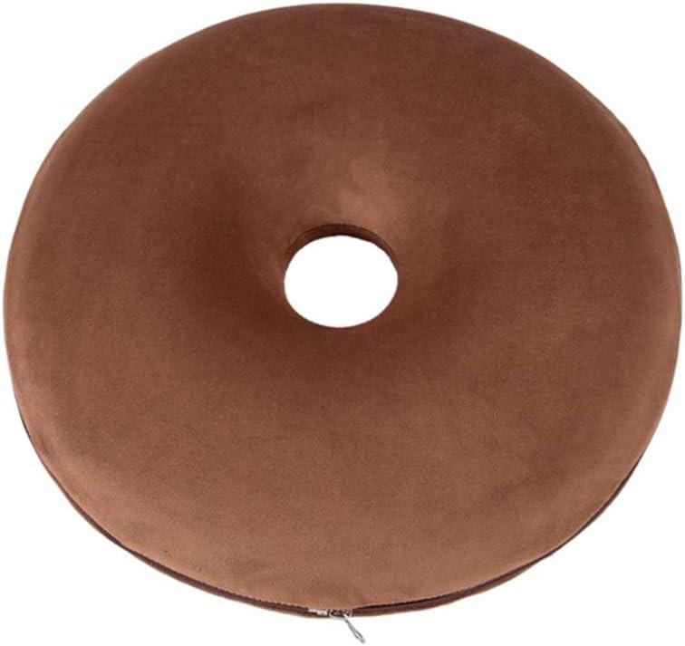 Online limited product AIZYR Donut Seat Cushion Cu Foam Max 50% OFF Hemorrhoid Memory