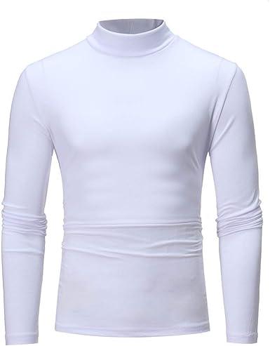 Sudadera De Cuello Alto para Hombre Camisa De Cuello Alto ...