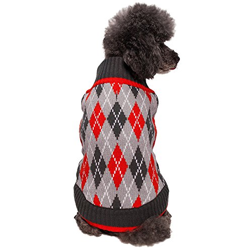 Blueberry Pet 2 Patterns Chic Argyle All Over Dog...