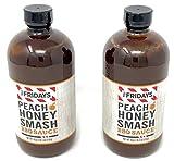 TGI Friday s Peach Honey Smash BBQ Sauce (Pack of 2)