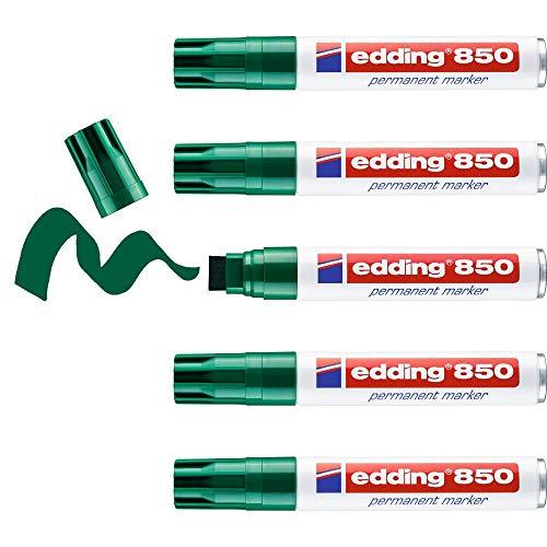 Edding 850Permanent Marker, blau (Box Of 5)