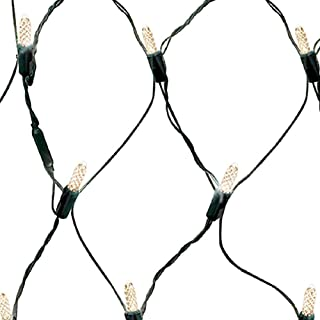 GE 100-Count LED Mini Clear Net Christmas String Lights