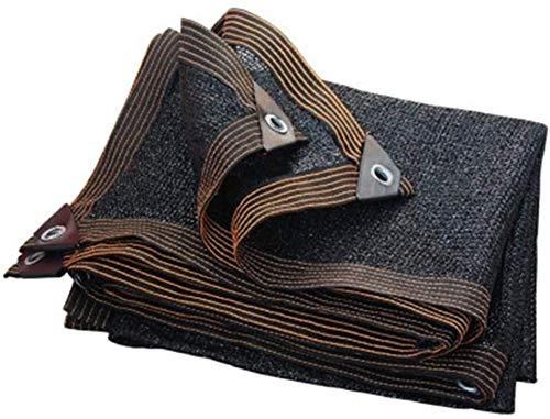 Sucastle Pantalla de Tela Negro 90% UV-Resistente Malla Sombra Lona Jardín de Las Plantas de Invernadero Piscina Patio Sombra Net Negro (Size : 10mx10m)