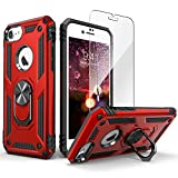 IDweel iPhone 8 Case with Tempered Glass Screen Protector, iPhone 7 Case, iPhone