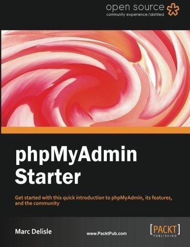 phpMyAdmin Starter by Marc Delisle (2012-04-02)