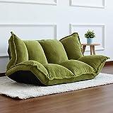 ZUEN Étage Meubles Reclining Futon Japonais Canapé-Lit Chaise Pliante Moderne Sleeper Réglable Salon Inclinable pour Salon Sofa,A