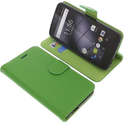 foto-kontor Tasche für Gigaset GS170 GS160 / GS170 Book Style grün Schutz Hülle Buch
