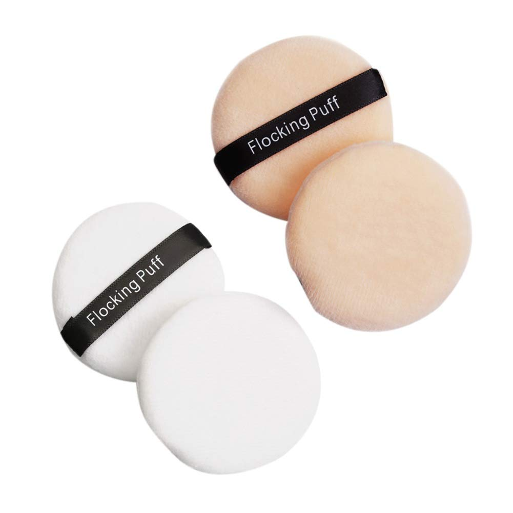 ROPALIA Makeup Powder Puff Max 63% OFF for Face Mixed Loos Foundation supreme