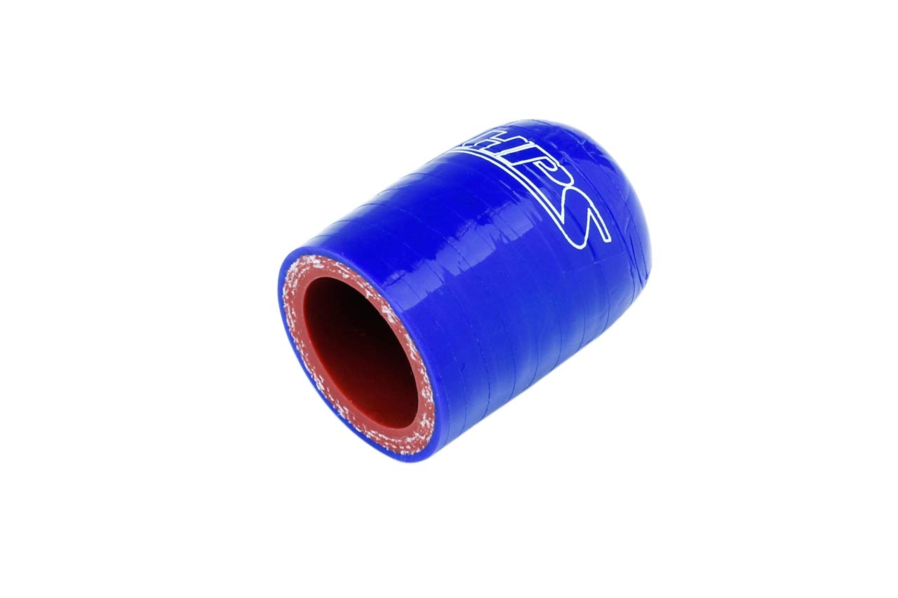 Temp 4mm Wall Thickness RSCC-118-BLUE HPS 1-3//16 350F Max Blue High Temperature 3-ply Reinforced Silicone Coolant Cap Bypass Heater 30mm 1-3//4 Length