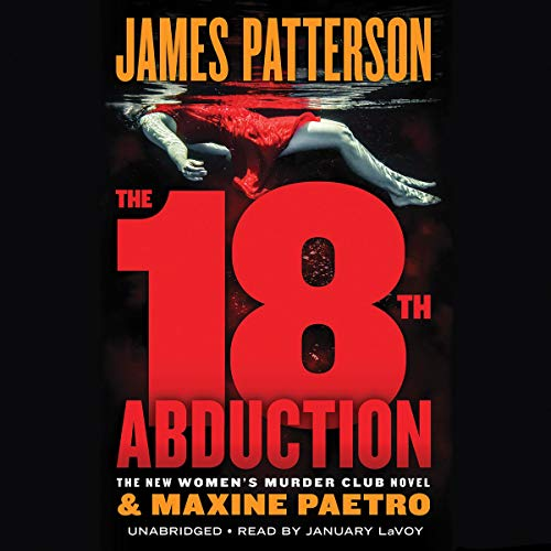 The 18th Abduction audiobook cover art