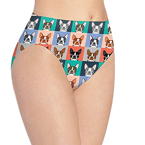 Damen süße Welpendruck Unterwäsche, Mädchen süße Hipster Slips Höschen WUD-1414