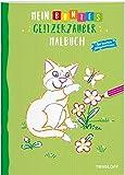 Mein buntes Glitzerzauber Malbuch (Katze): Mit bunten Glitzerkonturen (Malbücher und -blöcke)