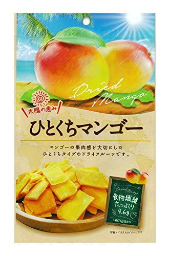 壮関 ひとくちマンゴー 76g ×6袋