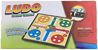 Ludo Magnetic Traditional Board Game Kids Children Indoor Travel