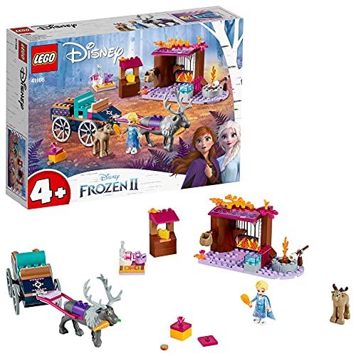 Lego 6251054 Lego Disney Frozen Lego Disney Frozen ElsaS Koetsavontuur - 41166, Multicolor