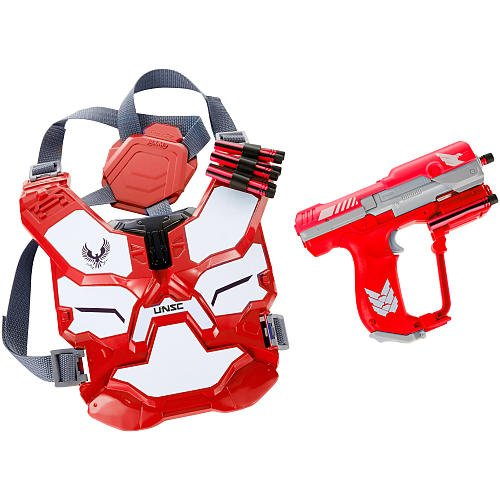 BoomCo HALO Spartan Assault Battle Armor Gear Set - RED