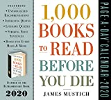 1000 Books to Read Before You Die Page-A-Day Calendar 2020 [5.5' x 6' Inches]