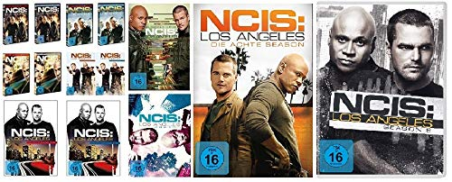 Navy CIS / NCIS: Los Angeles - komplette Season 1-9 (1.1 - 5.2 + 6 + 7 + 8 + 9) im Set - Deutsche Originalware [54 DVDs]