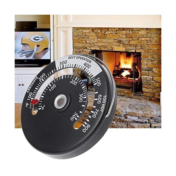 A0127 – Termómetro magnético para horno de chimenea, horno de leña