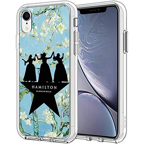Compatible with iPhone Case Transparent Soft TPU Pure Clear Flexible Corver Case SE 2020/7/8 Cover Broadway Sisters American