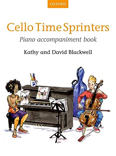 Cello Time Sprinters Piano Accompaniment Book: Piano Part