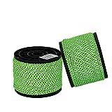 Stafeny - Cuerda de paracaídas para tienda de campaña resistente al viento, cuerda fija reflectante, 50 m, rollo de 4 mm, color verde, verde