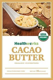 عروض Healthworks Cacao Butter Organic