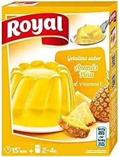 Royal Gelatina de Piña - Paquete de 12 x 14.17 gr - Total: