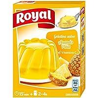Royal Gelatina de Piña - Paquete de 12 x 14.17 gr - Total: 170 gr