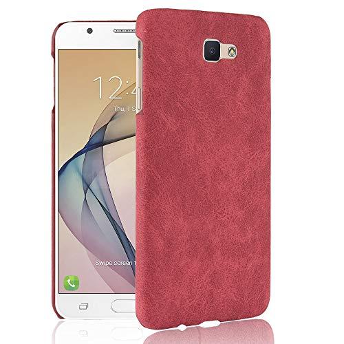 stengh Funda para Samsung SM-G611FF/DS Galaxy J7 Prime 2 Duos/SM-G611L SM-G611S SM-G611K Galaxy On7 Prime 2018 (Samsung G611) Edition, color rojo