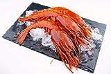 Carabineros – Gambas gigantes rojas – great red shrimp / gambas enteras / crudas / caza / océano indio occidental / caja de 800 g