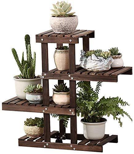 YBB-YB YankimX - Soporte para macetas, soporte para macetas, para interiores, exteriores, jardín, patio, sala de estar, bonsái, 66 cm