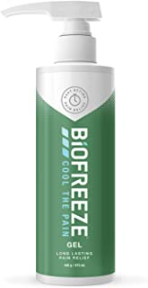 Biofreeze Pain Relieving Gel, 473 ml Pump, Cooling Topical