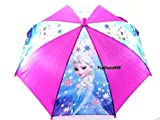 Disney Frozen Elsa 21' Blue Umbrella w/Carved Handle Anna(Assorted Color)